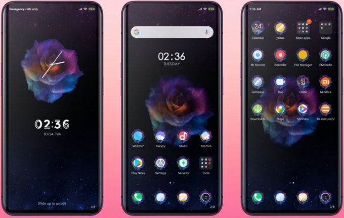 Rose Summer MIUI 11 Theme: Download MTZ 1