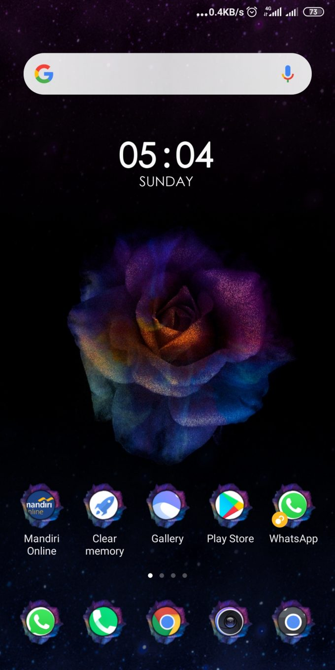 Rose Summer MIUI 11 Theme: Download MTZ 2