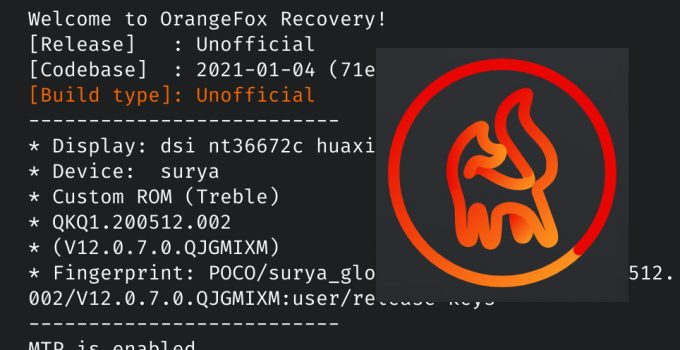 Download, Install Orangefox TWRP, and Root Poco X3 NFC 1