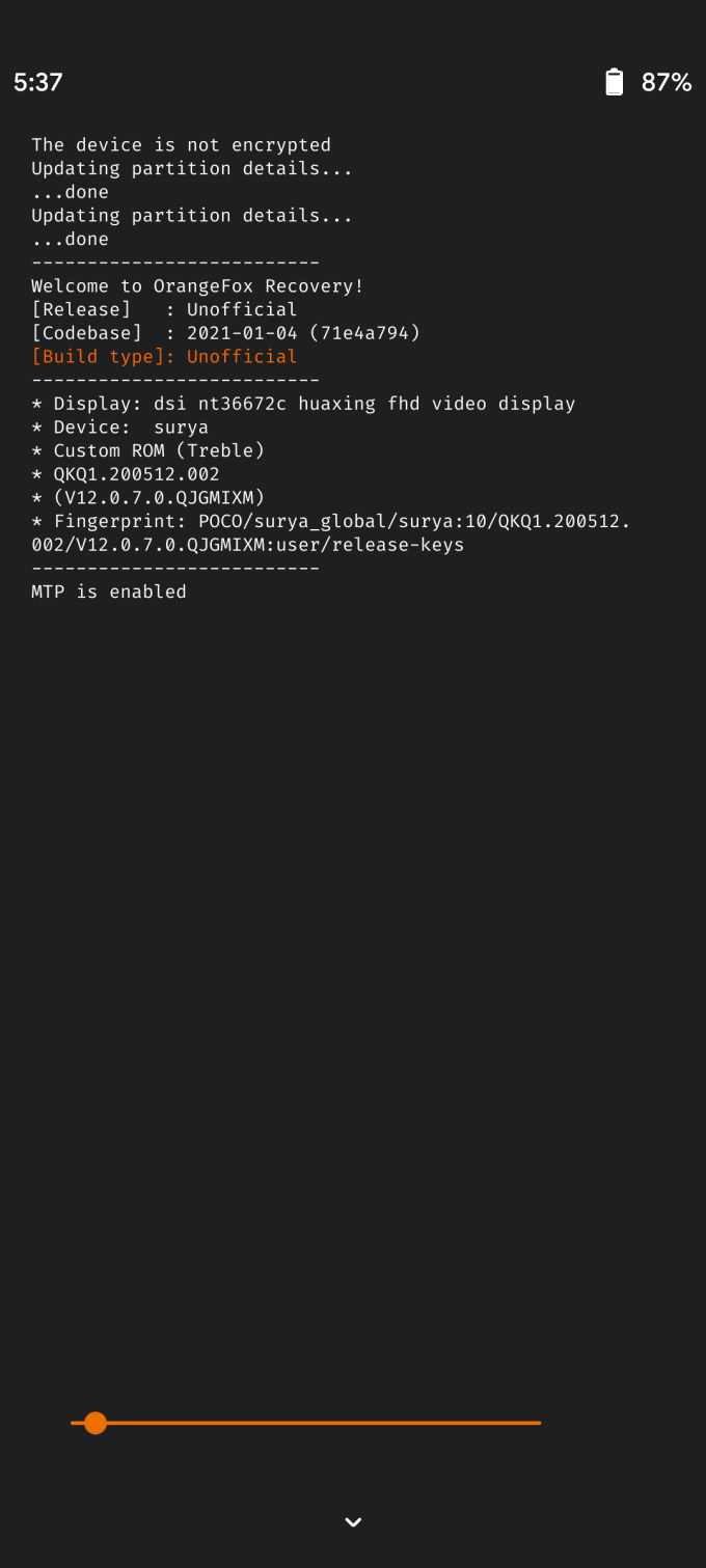 Download, Install Orangefox TWRP, and Root Poco X3 NFC 2