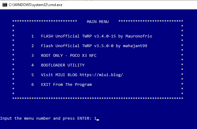 TWRP Flasher Toolkit for Poco X3 NFC: Install TWRP Easily 2