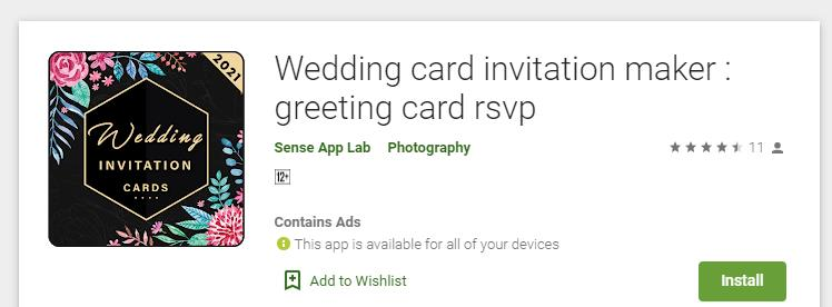 5 Top Invitation Card Maker Apps for Android in 2021 2