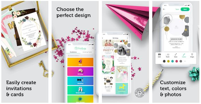 5 Top Invitation Card Maker Apps for Android in 2021 3