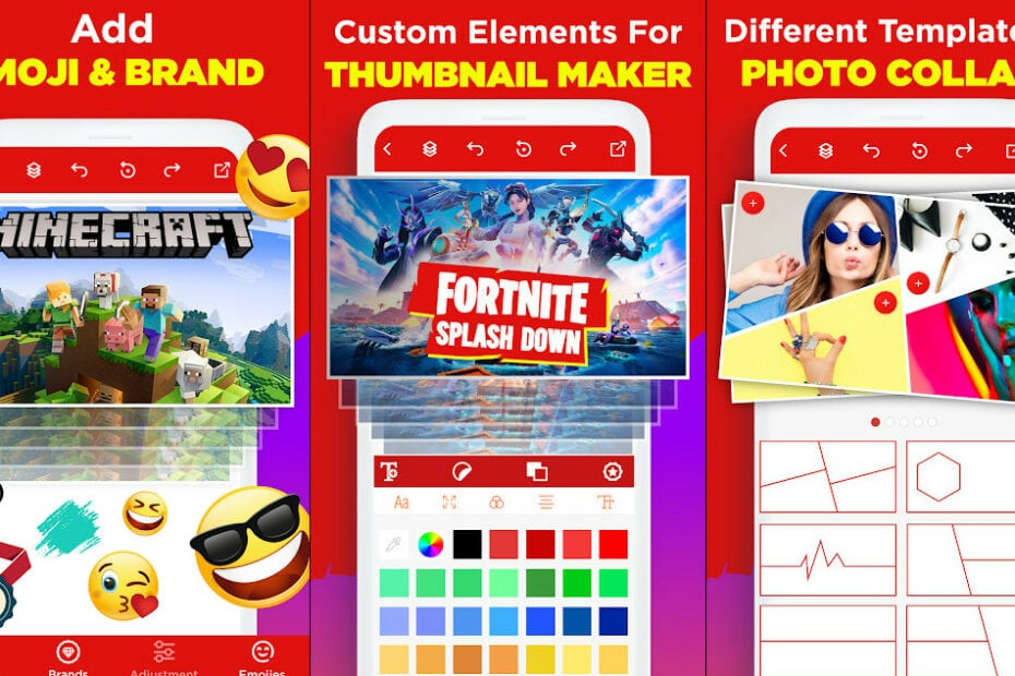 Thumbnail Maker & Channel Art Maker - Apps on Google Play 4