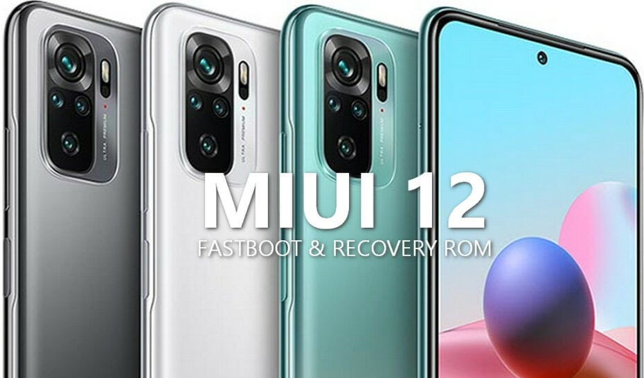 MIUI v12.0.11.0.RKGMIXM Global Stable ROM for Redmi Note 10 (Mojito) 1