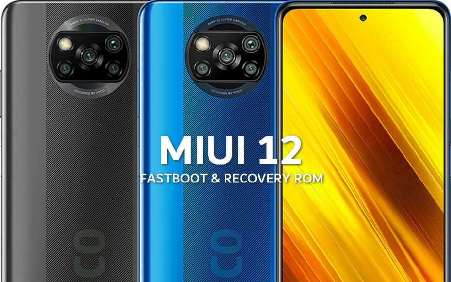 MIUI v12.5.1.0.RJGMIXM Global Stable ROM for Poco X3 NFC 1