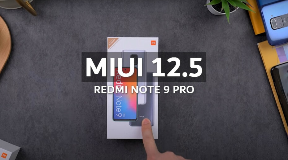 MIUI v12.5.1.0.RJZEUXM Europe Stable ROM for Redmi Note 9 Pro 1