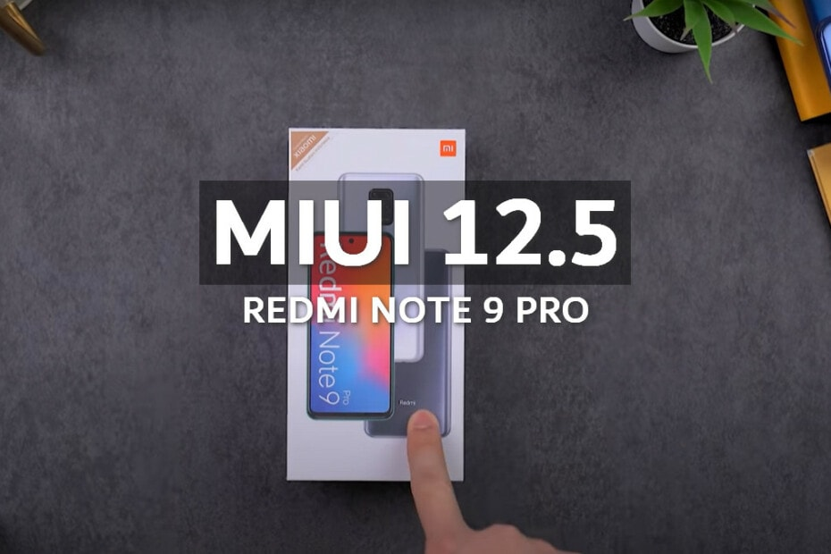 MIUI v12.5.1.0.RJZEUXM Europe Stable ROM for Redmi Note 9 Pro 5